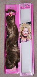 "3 x PARIS HILTON 18"" CLIP IN & GO  HAIR EXTENSION - MAPLE HONEY"